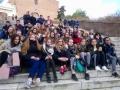 Les élèves du LEAP de Boissay de Fougères sur Bièvre et Lycée Sainte Cécile de Montoire en voyage à Rome