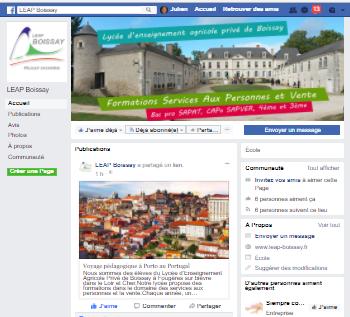 Abonnez-vous à notre page Facebook...